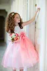 Cute bridesmaid dresses for little girls ideas 73